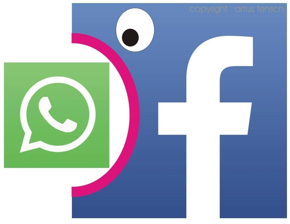 Whatsapp knutscht Facebook ? IGITT!!!!