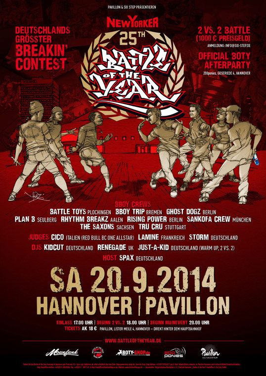 BATTLE OF THE YEAR – 25TH ANNIVERSARY