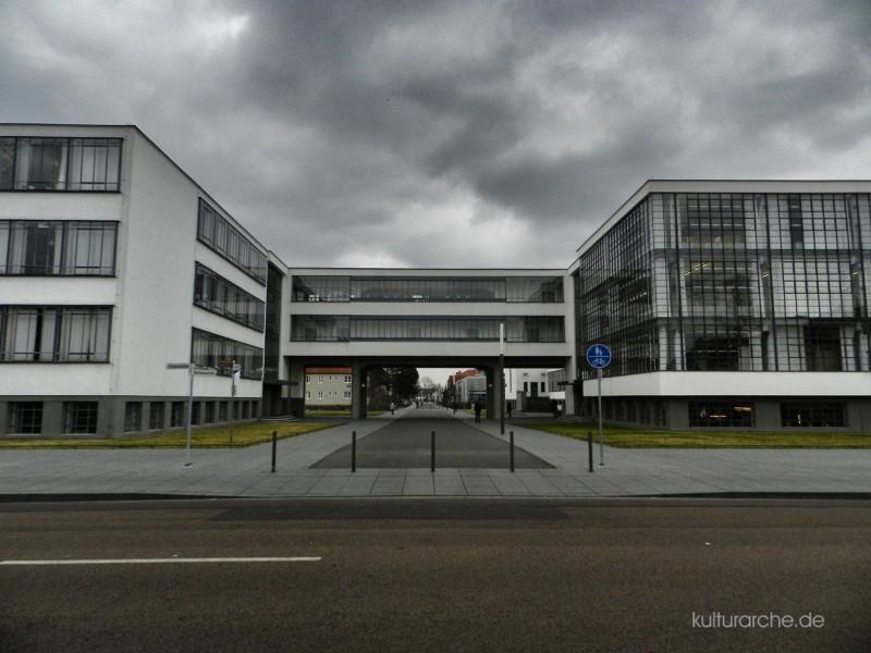 Bauhaus Dessau Eingang