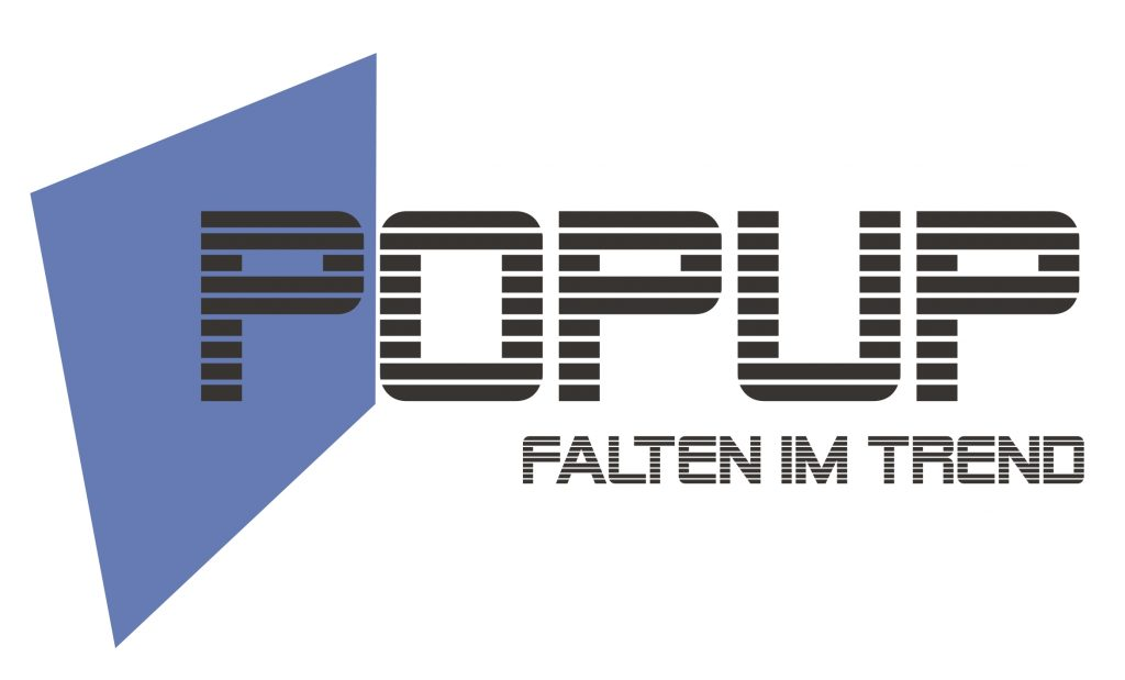 POP UP im Trend – Falttechnik