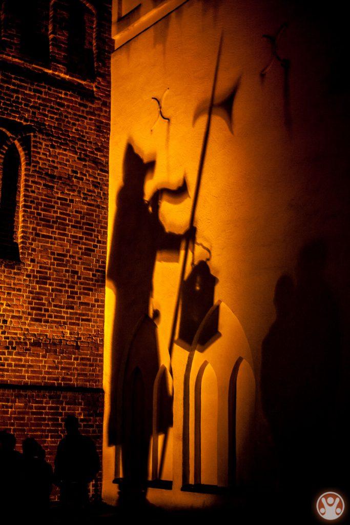 Unterwegs mit dem Nachtwächter in Lübben