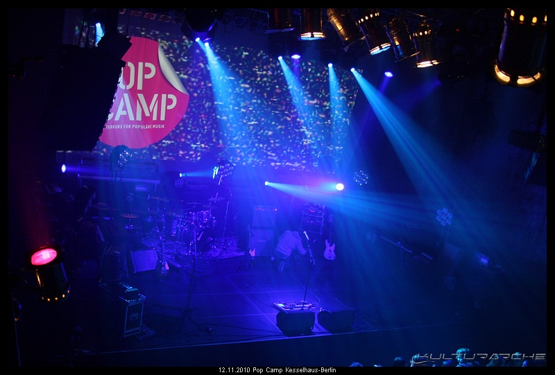 Pop Camp Kesselhaus Berlin